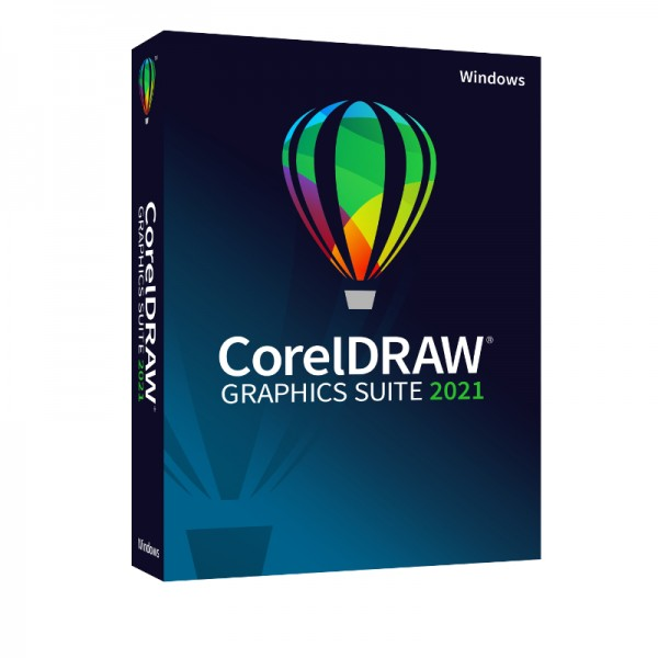 Corel DRAW Graphics Suite 2021, Windows10, Deutsch, BOX