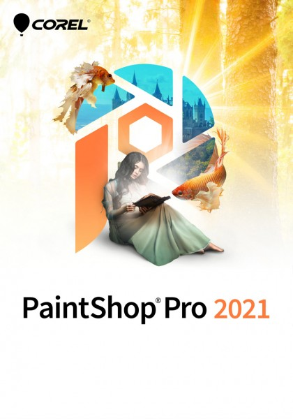 Corel PaintShop Pro 2021 Windows, Deutsch/Multi, ESD, Lizenz, Download, #KEY