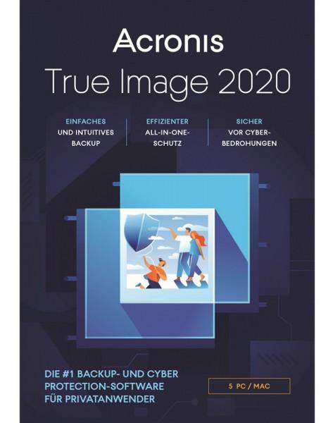 Acronis True Image 2020, 5 Geräte, Dauerlizenz, ESD, Lizenz, Download