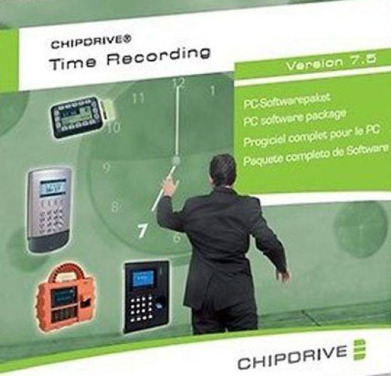 SCM Chipdrive Timerecording (Zeiterfassung) Software Version 7.5, ESD, KEY