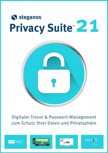 Steganos Privacy Suite 21 #PKC (Karte mit Key und Download-Link)