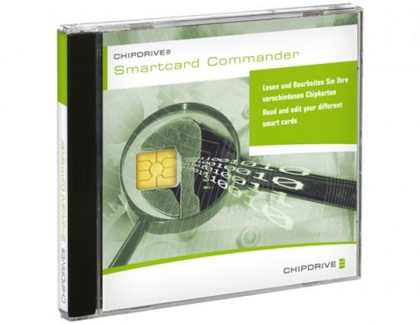 SCM Chipdrive Smartcard Commander Pro, neuste Version 1.3.3, inkl. CD