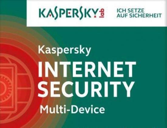 Kaspersky Internet Security, Multi Device, 3 Geräte, PC Mac Android, 1 J., 2016