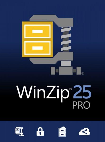 WinZip 25 PRO 1-PC DEUTSCH, ESD Lizenz Download KEY