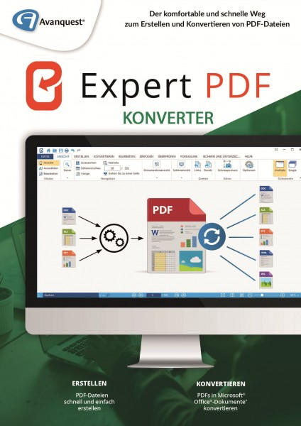Expert PDF 14 Konverter #PKC (Karte mit Key und Download-Link)