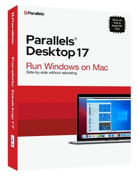 Parallels Desktop 17 Standard für MAC *Dauerlizenz* #BOX