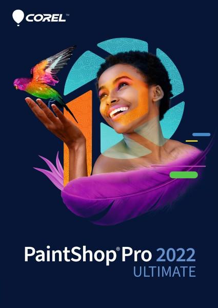 Corel PaintShop Pro 2022 Ultimate, Deutsch, ESD, Lizenz, Download, #KEY