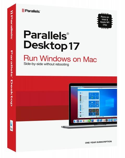 Parallels Desktop 17 Standard für MAC 1-Jahr #BOX
