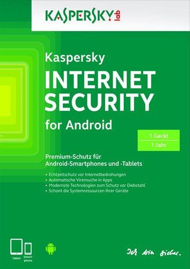 Kaspersky Internet Security für Android, 1 Gerät, 1 Jahr, ESD, Lizenz, Download