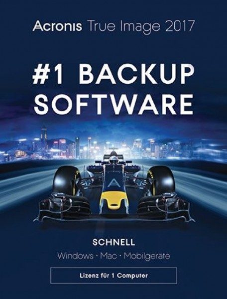 Acronis True Image 2017, PC/Mac, Dauerlizenz, ESD, Lizenz, Download, KEY