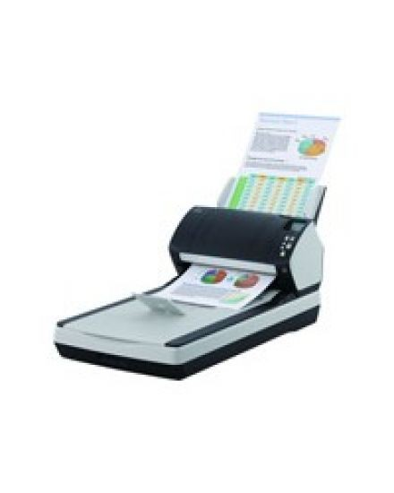Fujitsu fi-7280 Arbeitsgruppen-Dokumentenscanner inkl. Flachbetteinheit