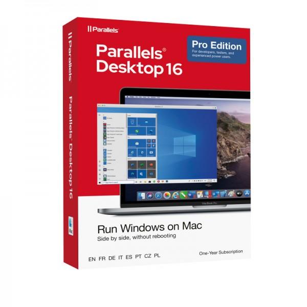 Parallels Desktop 16 PRO für MAC 1-Jahr BOX