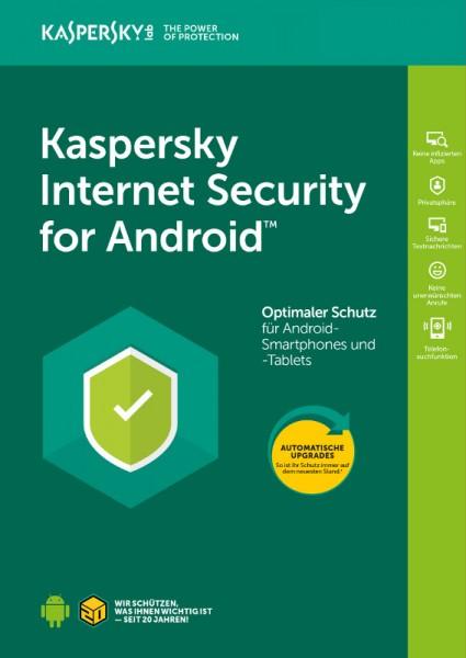 Kaspersky Internet Security für Android, 1 Gerät, 1 Jahr, Download