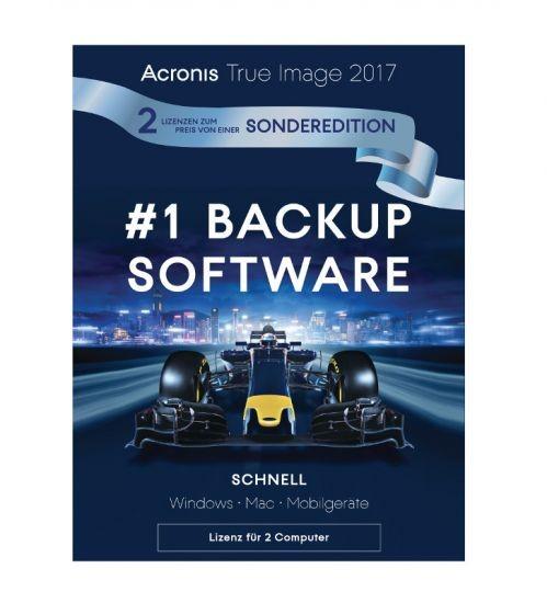 Acronis True Image 2017 1+1, Dauerlizenz, Download