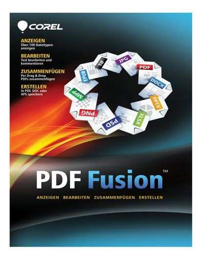 Corel PDF Fusion, Deutsch, ESD, Lizenz, Download