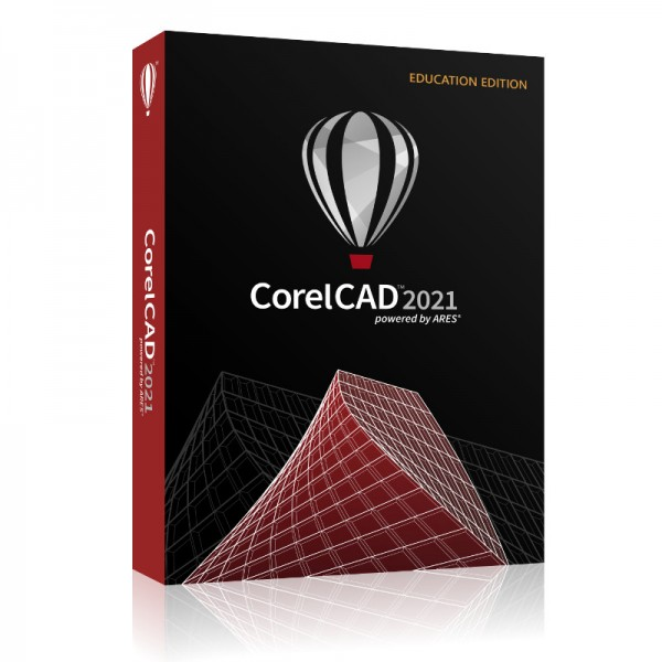 Corel CAD 2021 Education Schulversion/Academic Windows10 / Mac, DVD-Box