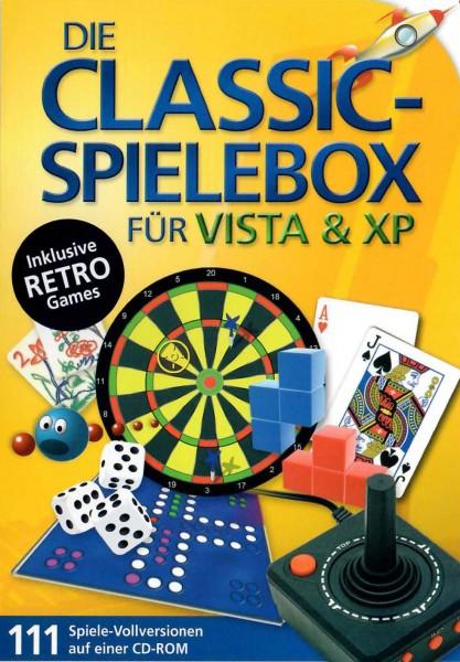 CLASSIC-SpieleBox inkl.Retro-Games