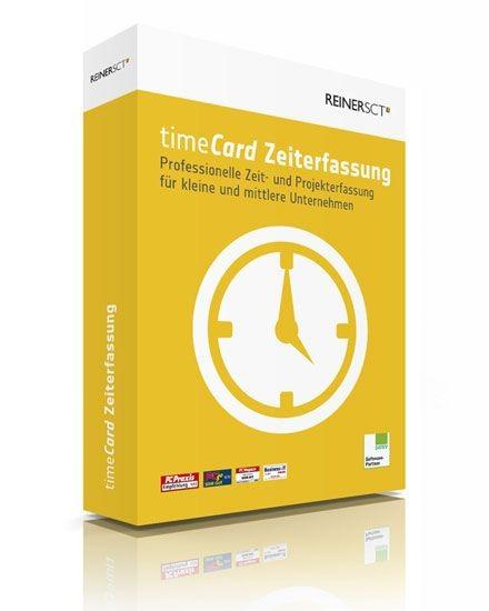 Reiner SCT timeCard 6 Zeiterfassung für 5 Mitarbeiter, Lizenz