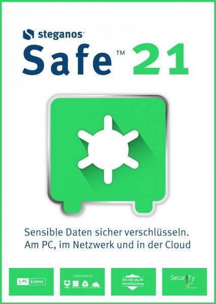 Steganos Safe 21 #PKC (Karte mit Key und Download-Link)