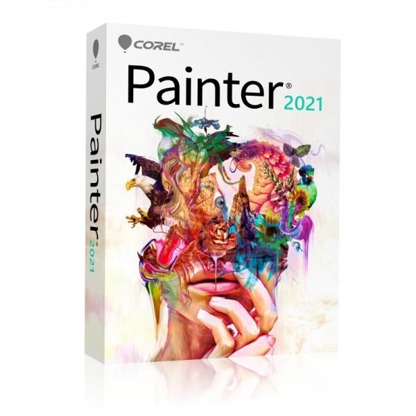 COREL Painter 2021 Vollversion DEUTSCH Windows/Mac DVD Slim-Case