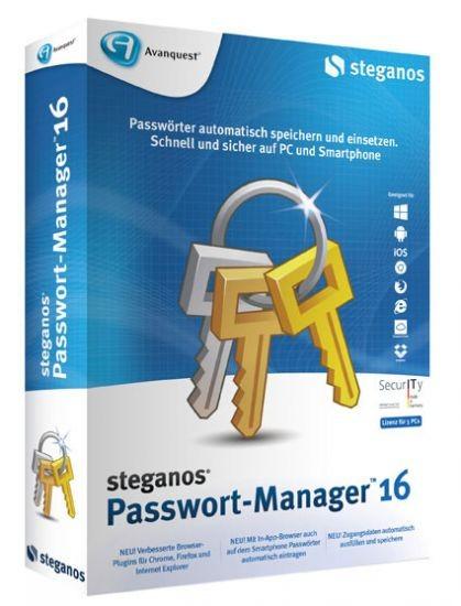 Steganos Passwort-Manager 16, BOX