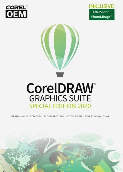 Corel DRAW Graphics Suite Special Edition 2020 (V.22) OEM +AfterShot3 +FM, Download