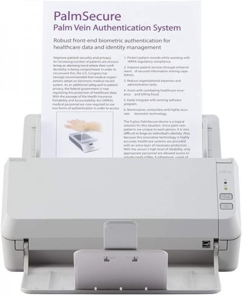 Fujitsu SCANSNAP SP-1125N Dokumentenscanner Duplex, TWAIN/ISIS Unterstützung, USB/LAN