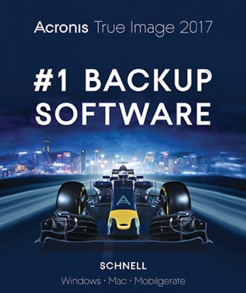 Acronis True Image 2017, 3 Geräte, Dauerliz., Download