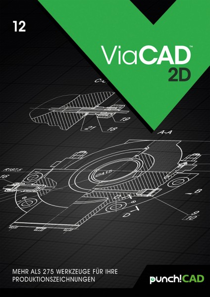 ViaCAD 12 2D, ESD Lizenz Download KEY