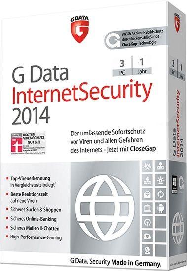 G DATA InternetSecurity, 3 PC, 1 Jahr, KEY