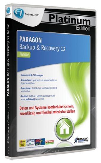 APE Paragon Backup & Recovery 12 , PC, DVD-BOX