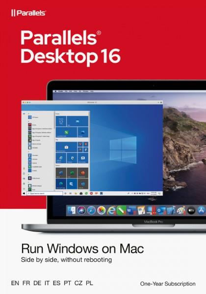 Parallels Desktop 16 Standard für MAC 1-Jahr, ESD Lizenz, Download, KEY