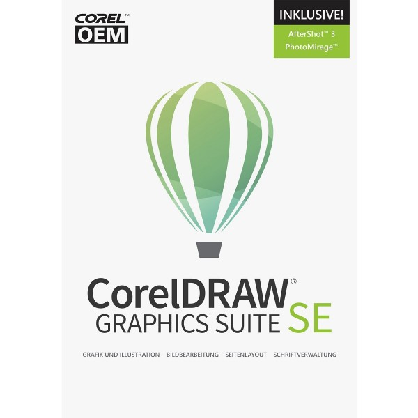 CorelDRAW Graphics Suite 2019 Special Edition OEM, ESD Lizenz Download KEY