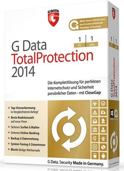 G DATA TotalCare, 1 PC, 1 Jahr, KEY