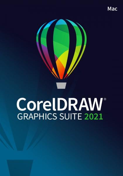 EDUCATION Corel DRAW Graphics Suite 2021, Mac, Schulversion, Download