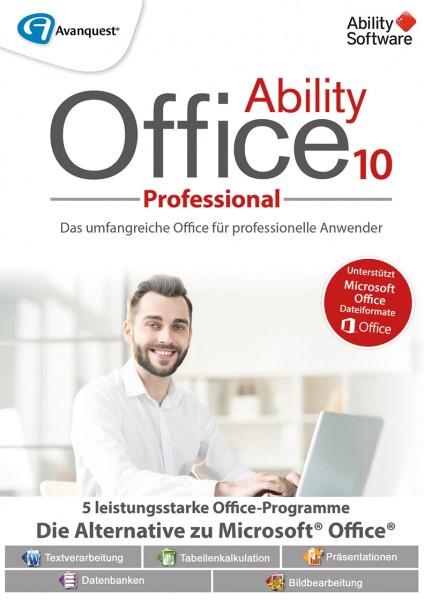Ability Office 10 Professional #PKC (Karte mit Key und Download-Link)