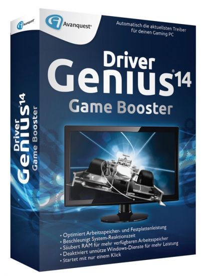 DriverGenius 14 - Game Booster, BOX