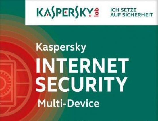 Kaspersky Internet Security, Upgrade, 5 Geräte PC/Mac/Android, 1 Jahr, 2017, ESD