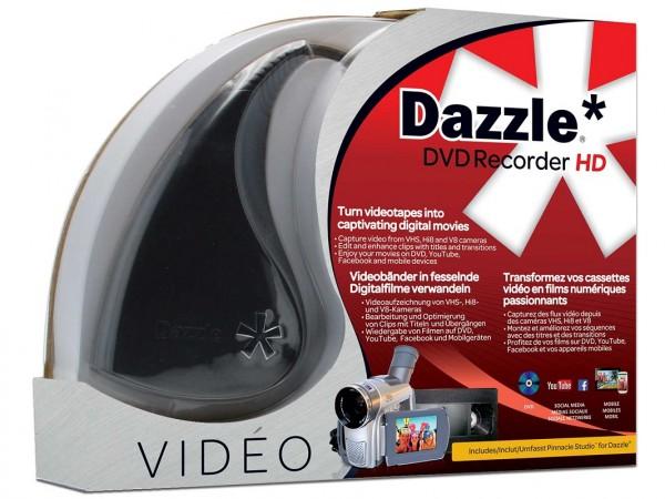 Dazzle DVD Recorder HD inkl. Software für Windos, BOX