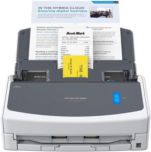 Fujitsu ScanSnap iX1400 Dokumentenscanner A4, Duplex, USB 3.2 mit ADF