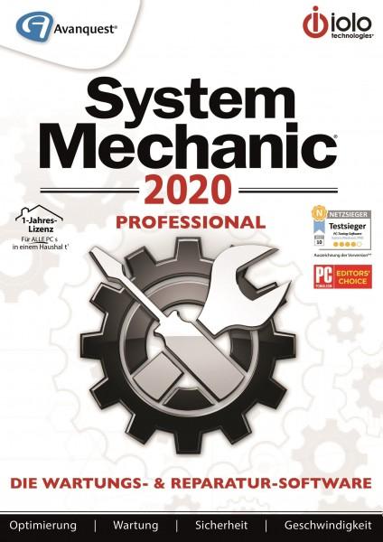 System Mechanic 2020 Professional #PKC (Karte mit Key und Download-Link)