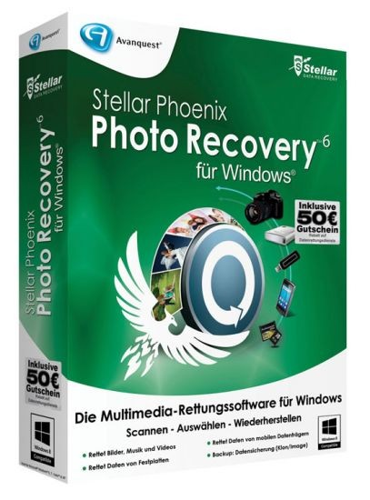 Stellar Photo Recovery 6 für Windows, BOX