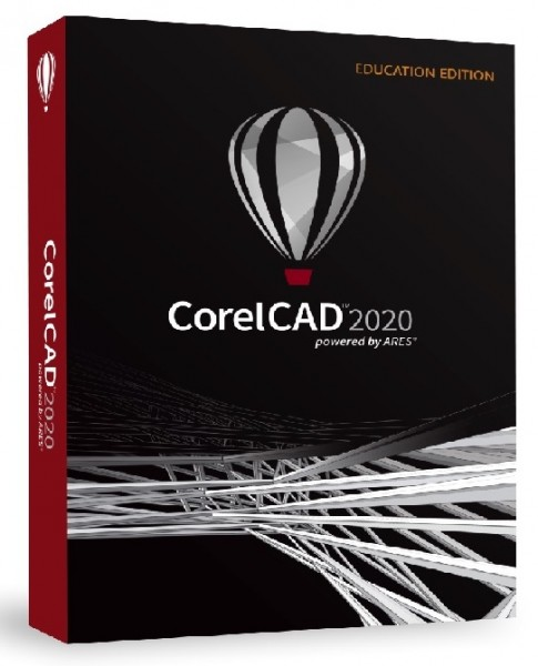 CorelCAD 2020 Education Schulversion/Academic Win/Mac, DVD-Box