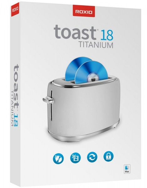 Roxio Toast Titanium 18, Nur für Mac, BOX