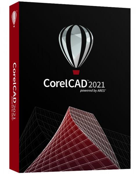 Corel CAD 2021 Windows10 / Mac, DVD-Box