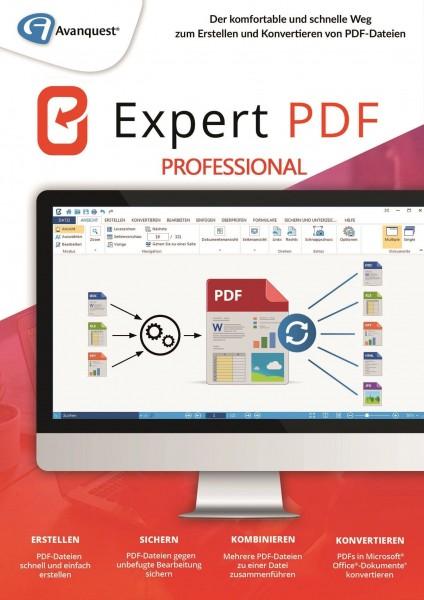 Expert PDF 14 Professional #PKC (Karte mit Key und Download-Link)