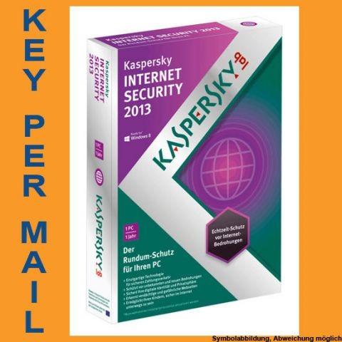 Kaspersky Internet Security, 1 User, 1 Jahr, KEY