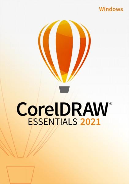 Corel DRAW Essentials 2021, Windows 10 (64 Bit), Download